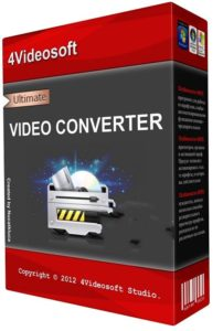 4Videosoft Video Converter Ultimate 9.1.26 With Crack [ Latest 2021] Free Download