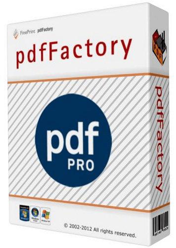 PdfFactory Pro Crack 7.44 Plus Serial Key Latest Version Download 2021